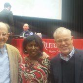 NJHP at Paul Farmer Lecture at Rutgers1