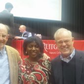 NJHP at Paul Farmer Lecture at Rutgers2