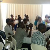 Attendees at first Haiti Sickle Cell Meetup