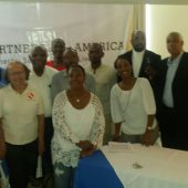 New Jersey and Haiti Chapter Members at Sickle Cell Meetup
