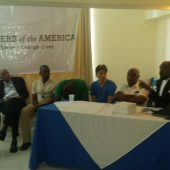 Panelists at Haiti Sickle Cell Meetup