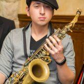 Saxophonist, Lucas Perez